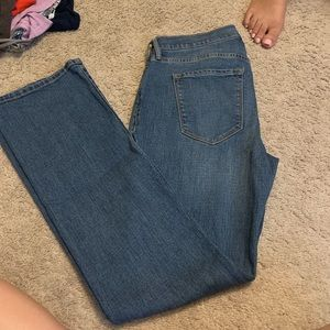 Boot cut jeans from old navy